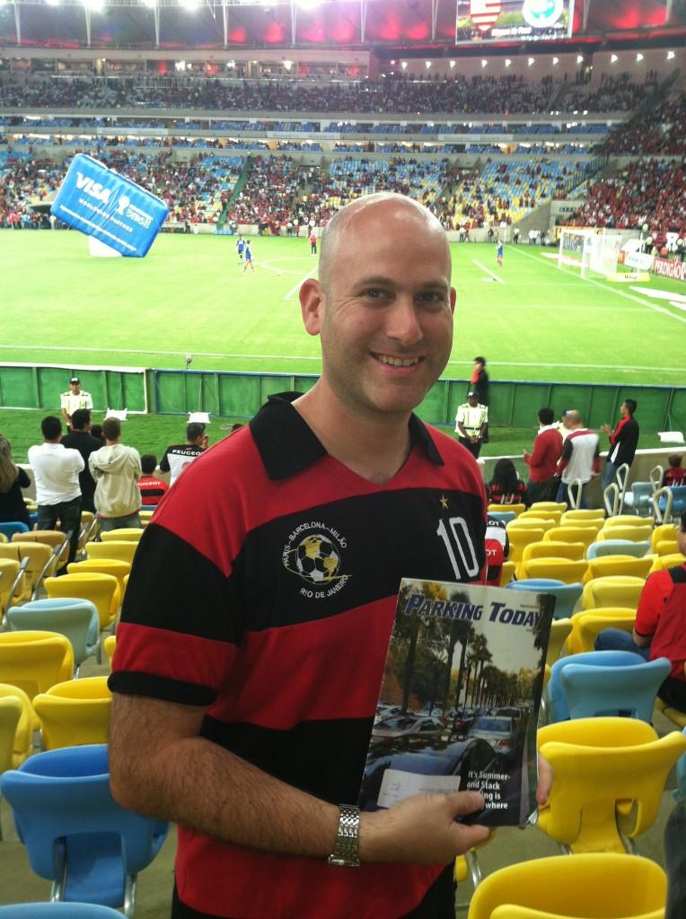 Shawn Brown, Parking Today, Maracana Stadium, Rio de Janeiro Brazil